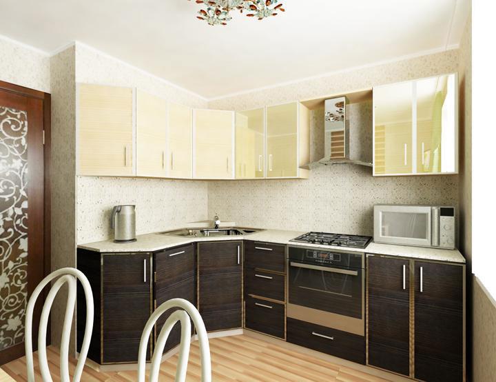 Кухня 9кв метров дизайн