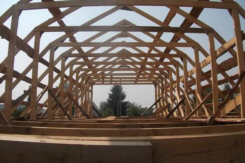 Мансардная крыша своими руками фото