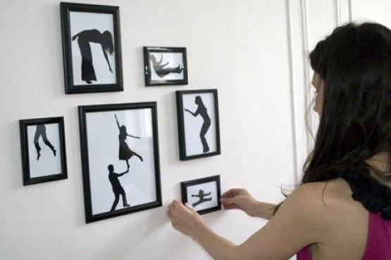 Украшаем стену своими руками фото
