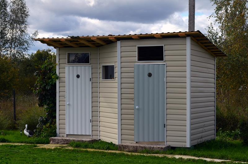 Туалет с душем на даче своими руками чертежи размеры фото