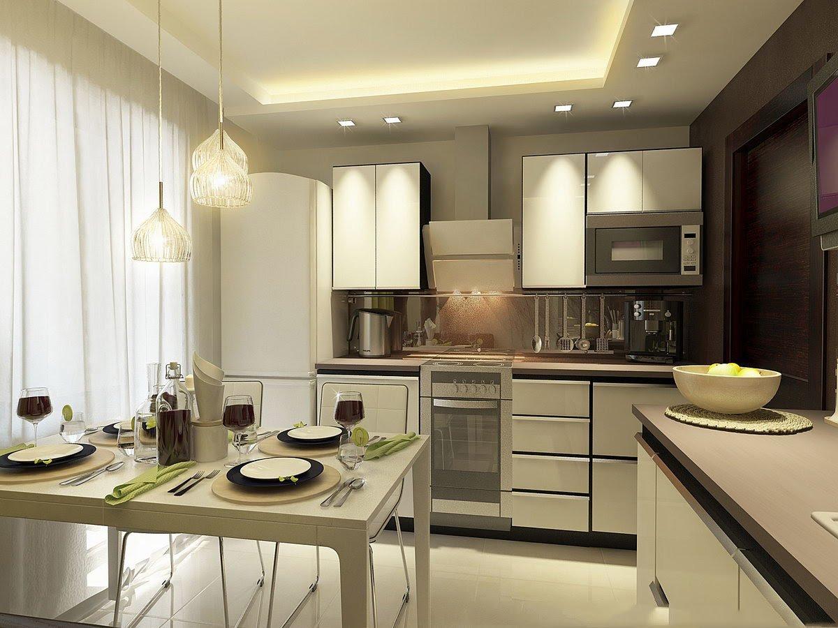 Освещение на кухне - волшебство домашнего уюта интерьерные ш.