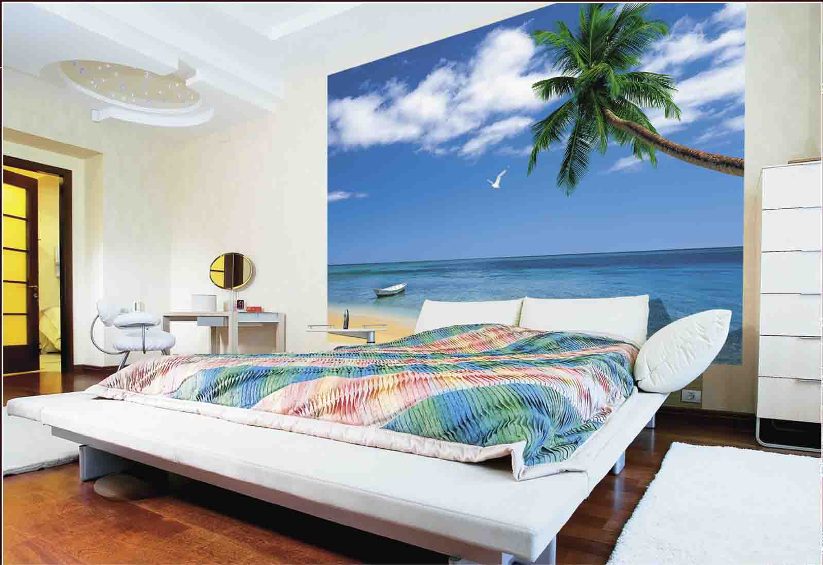 фото комната с фотообоями