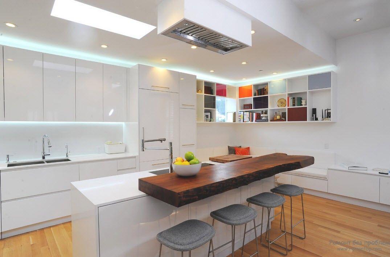Интерьер кухни современный дизайн фото